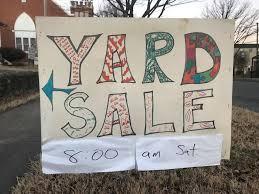 yard sale image